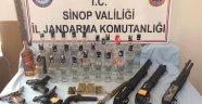 Sinop'ta suç örgütü operasyonu