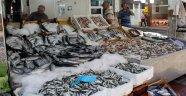 Sinop'ta tezgahlar balık çeşitleriyle doldu