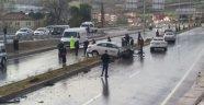 Sinop'ta Trafik Kazası 5 Yaralı !!!