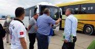 Sinop'ta tur otobüsleri denetlendi