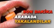 Sinop'ta uyuşturucu hap operasyonu