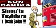 Sinop'ta Yaşayan Yaşlılara 1 Ocak Şoku !!!