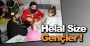 TÜGVA'dan çocuk hastalara moral