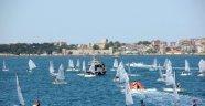Türkiye Optimist Şampiyonası Sinop'ta başladı.