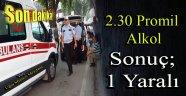 Uğur Mumcu Meydanında Trafik Kazası
