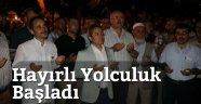 Vali Cirit Hacı Adaylarını Yolcu Etti