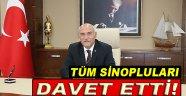 Vali Hasan İpek Tüm Sinopluları Davet Etti!