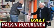 Vali İpek Halkın Huzurunda