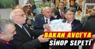 Vali İpek'ten Bakan Avcı'ya Sinop Sepeti