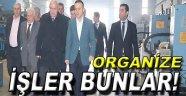 Vali İpek'ten Organizeye Ziyaret