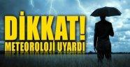 Valilik'ten Meteorolojik Uyarı