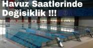 Yarı Olimpik Yüzme Havuzunda Program Değişikliği
