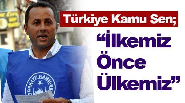 Türkiye Kamu Sen'den 1 Mayıs İçin Basın Açıklaması