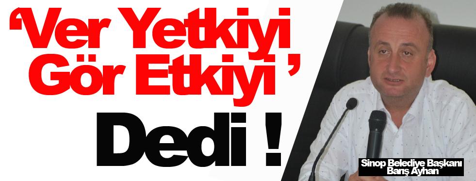 Başkan Ayhan, Sosyal Devlet Anlayışına Vurgu Yaptı !