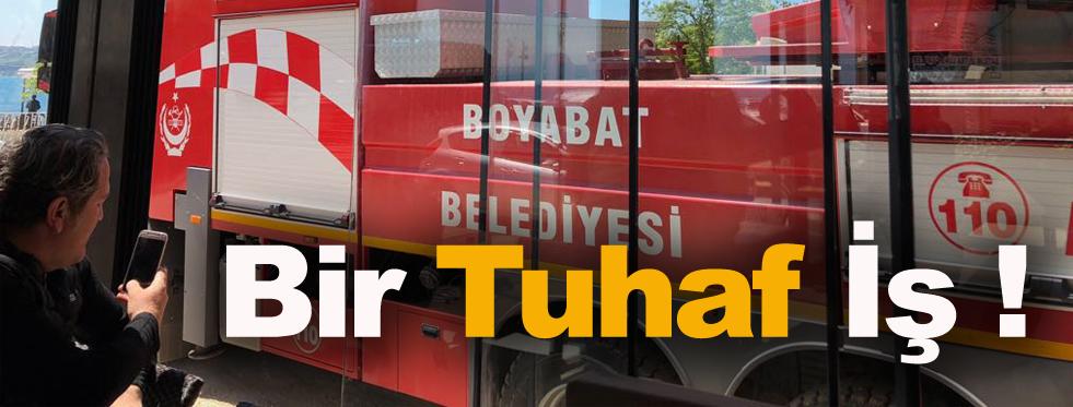 Boyabat'ın Hortumu Sinop'a Yetişti !
