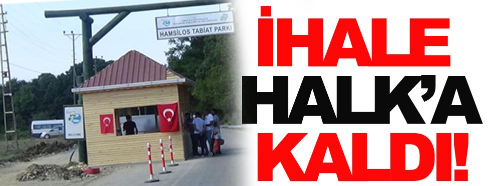 Halkın mücadelesi sonuç verdi, Hamsilos ihalesi iptal edildi!