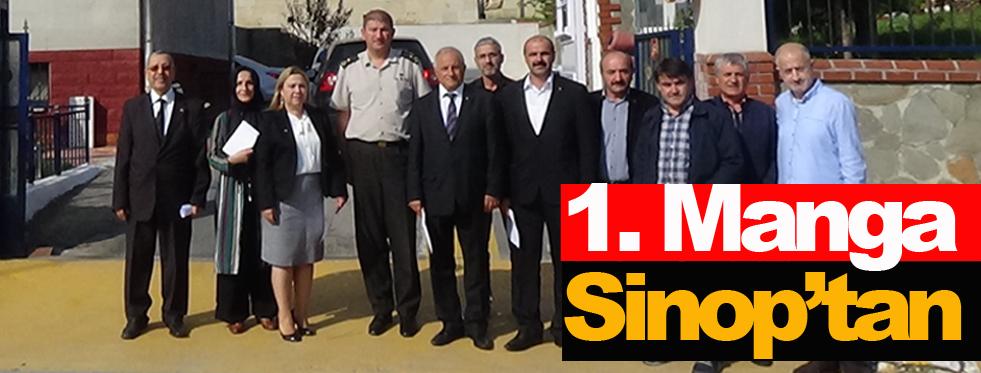 MHP Sinop İl Yönetiminden Barış Pınarı Harekatına destek