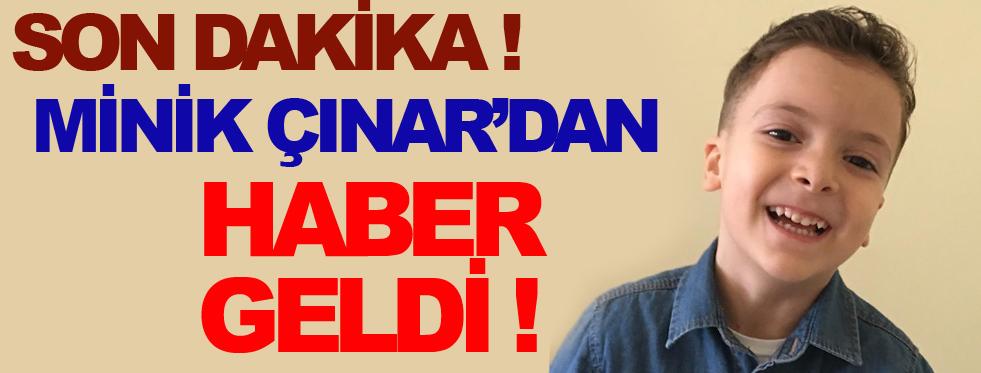 Minik Çınar'dan Haber Var !