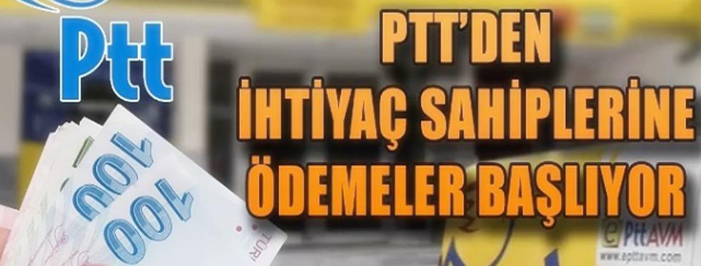 PTT Ödeme tarihlerini duyurdu!