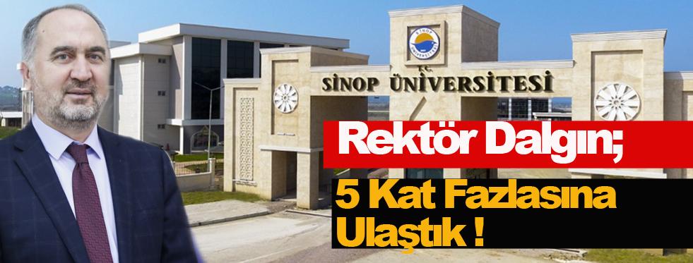 Sinop Üniversitesine 3 Yılda 63 Yeni Program