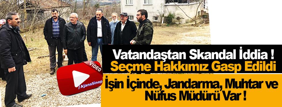 Sinop'ta Anayasa İhlali İddiası !