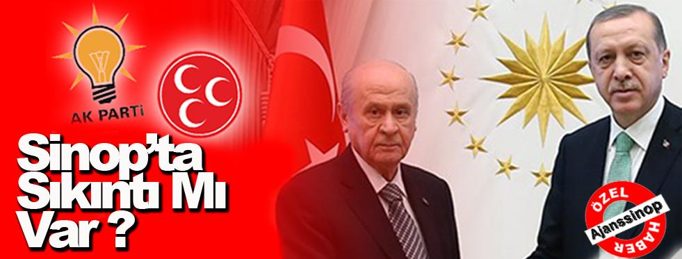 Sinop'ta Cumhur İttifakı Olmayacak mı?