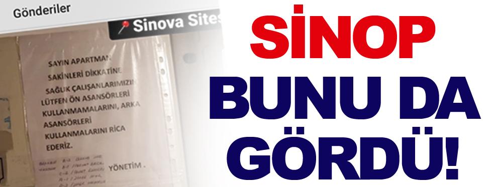 Sinop'ta Sağlık çalışanlarına asansör kısıtlaması!
