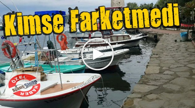 Sinop Limanında Med Cezir