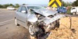 Gerze Yolunda Trafik Kazası Yaralılar Var