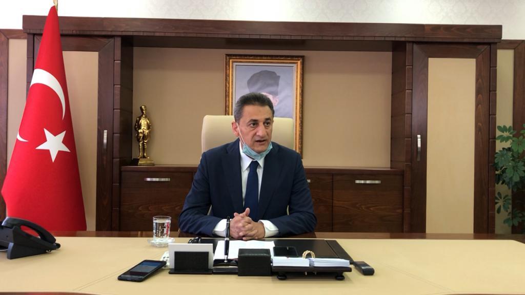 Sinop Valisi Karaömeroğlu, Göreve Başladı