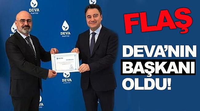 DEVA'NIN BAŞKANI BELLİ OLDU!