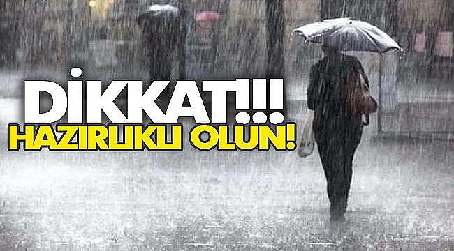 Sağanak Yağış Geliyor!