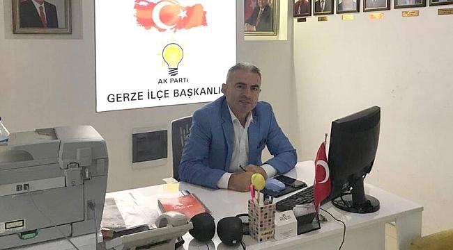 AK Parti Gerze İlçe Başkanı Görevi Bıraktı