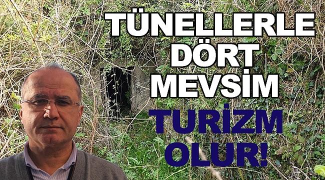 """Çobanoğlu; """"Tünellerle Dört Mevsim Turizm Olur!"""""""