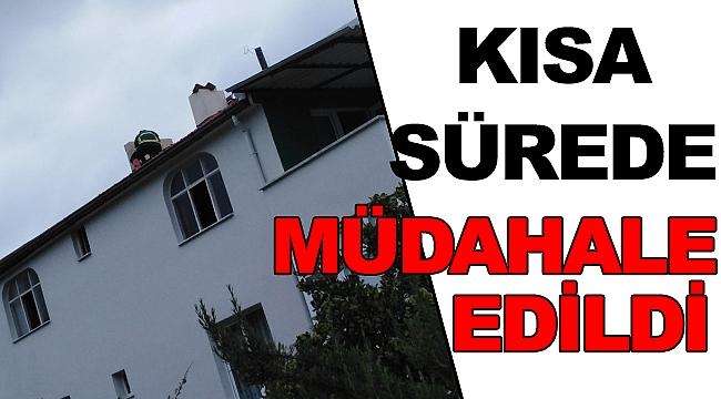 Sinop'ta Çıkan Yangına Kısa Sürede Müdahale Edildi