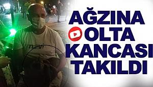 Sinop'ta kedinin Ağzına Olta Kancası Takıldı