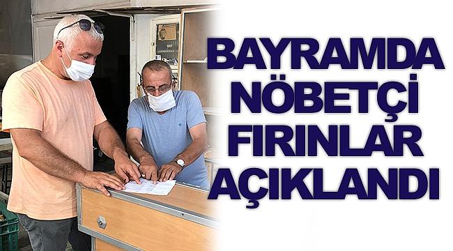 Sinop'ta Kurban Bayramı'ndaki Nöbetçi Fırınlar