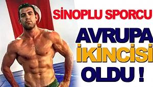 Sinoplu Güreşçi Mehmetbeyoğlu Avrupa İkincisi Oldu
