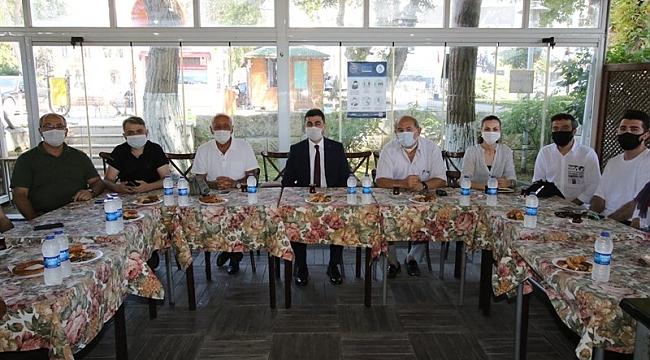Vali Vekili Girgin Sinop Basınıyla Bir Araya Geldi