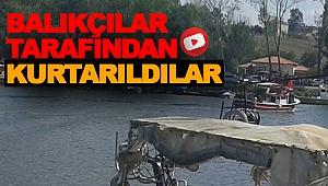 Balıkçılar Tarafından Kurtarıldılar