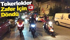 Sinop'ta 30 Ağustos Zafer Bayramı Korteji