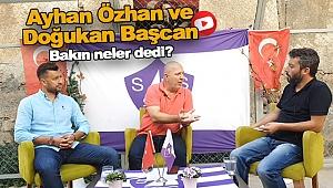 SinopSpor Başkanı Ayhan Özhan ve Yeni Teknik Direktör ile Röportaj
