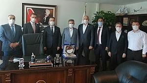 SİAD, Önder Yaman'ı Makamında Ziyaret Etti