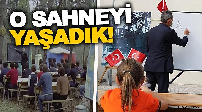 Sinop'ta Hababam Sahnesi!