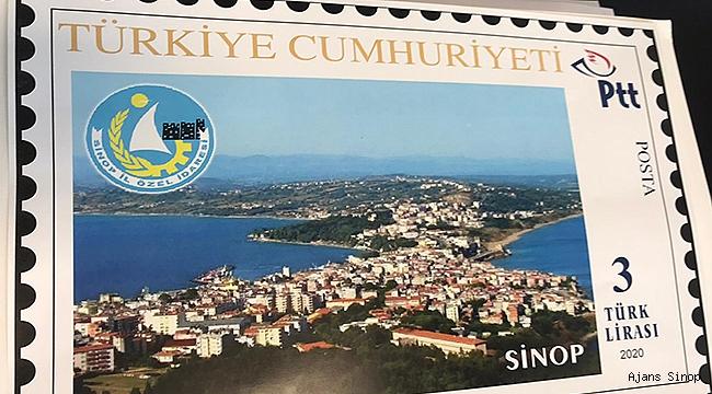Sinop'un Tanıtımı İçin Posta Pulu Bastırıldı