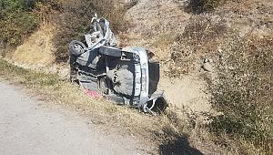 Otomobil Kamyonun Altına Girdi 1 Ölü 4 Yaralı