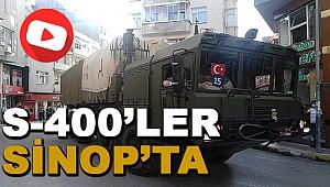 S-4OO Füzeler Sinop'ta!