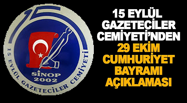 Sinop 15 Eylül Gazeteciler Cemiyeti