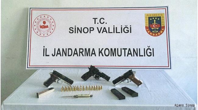 Türkeli'de Silah Operasyonu!