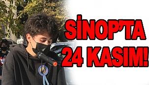 SİNOP'TA 24 KASIM ÖĞRETMENLER GÜNÜ